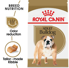 Royal Canin Breed Health Nutrition Bulldog Adult Dry Dog Food 30 lb