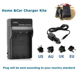 Battery Charger for Panasonic CGA-DU07 DU06 NV-GS17 SDR-H250 SDR-H20 Camcorder