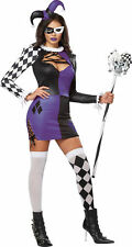 Naughty Jester Costume for Women Size Medium (8-10) New by Cal. Costumes 01340