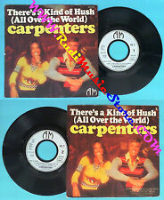 LP 45 7'' CARPENTERS There's a kind of hush Goodbye and i love you no cd mc dvd