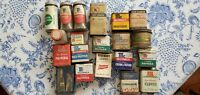VINTAGE 11 McCORMICK SPICE TINS + 1 BLUE RIBBON 2 ANN PAGE 1 KROGER +5 OTHERS