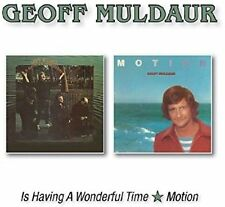 Geoff Muldaur - Is Having a Wonderful Time/Motion (2016)  CD  NEW  SPEEDYPOST