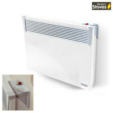 Electric Convector Panel Heater 1500w Wall Mounted - Modern Design and Slimline