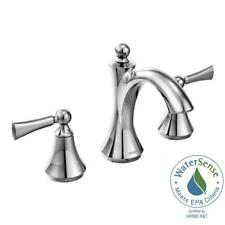 * MOEN 4945 Chateau 8 in Widespread 2-Handle Low-Arc Bathroom Faucet in Chrome