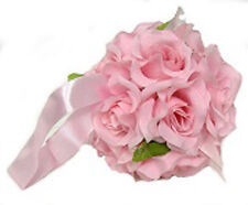 Flower Balls ~ Pink ~ Kissing Pomander Wedding Flowers Party Centerpieces Decor