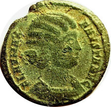 EMPRESS FAUSTA 326AD, THE WIFE OF CONSTANTINE THE GREAT - SALUS REIPUB  #PZS33