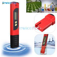 Pocket LCD Digital PH Meter Tester Pen Hydroponics Aquarium Pool Water Measure