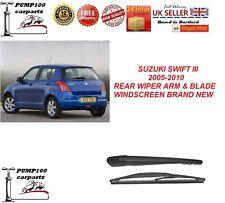 SUZUKI SWIFT III 2005-2010 REAR WIPER ARM & BLADE WINDSCREEN BRAND  NEW