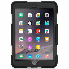 NUOVO Griffin Survivor iPad Mini 1 2 3 duro duro resistente cover Supporto Nero Regno Unito