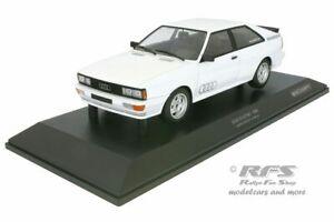 Audi Quattro 1980 weiß white 1:18 Minichamps 155016120 NEU