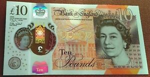 BRAND NEW 2017 £10 BANKNOTES-(B415) POLYMER*AA01* NOTES X1 UNC
