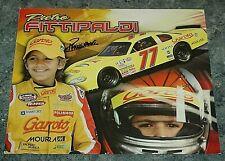 Nascar 2011 Pietro Fittipaldi postcard autographed