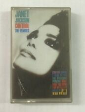 "Janet Jackson ""Control The Remixes"" Tape Cassette *A&M MIXMC 1* 1987 - Tested"