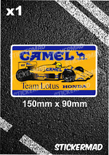 Camel Team Lotus 99T Honda Classic Sticker Senna Vintage F1 Tobacco ELF 1987