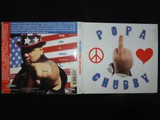 CD POPA CHUBBY / PEACE LOVE & RESPECT /