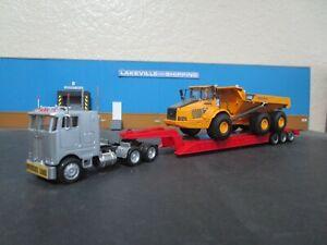 HO Scale 1/87 Custom Peterbilt Truck & HD Trailer W/load Con-Cor Athearn lot