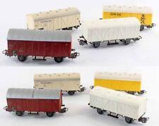 train HO - MARKLIN HO 4 WAGONS / jouet ancien
