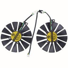2pcs/set for ASUS DUAL RX470 /RX570 RX580 GTX1080Ti / 1070Ti Fan PLD10010S12H