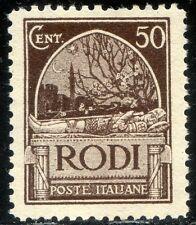 Colonie Italiane Egeo 1929 Serie Pittorica n. 8 ** (m2352)