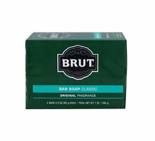 Brut Bar Soap Classic Original Fragrance~1 PK/2 Bars 3.5 oz. each/total 7 oz.
