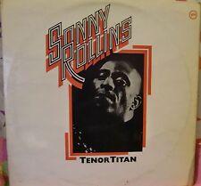 "12"" DOUBLE LP VERY RARE TENOR TITAN BY SONNY ROLLINS VERVE RECORDS U.K. 2683 054"