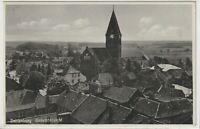 Ansichtskarte - Dahlenburg - Gesamtansicht mit Kirche und Häusern - Dt. Reich