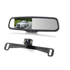 Auto-vox 4.3″ Rear View Mirror Monitor License Plate Reversing Backup Camera