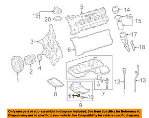 MERCEDES OEM 12-15 C63 AMG 6.3L-V8 Engine-Lower Oil Pan Seal 007603012106