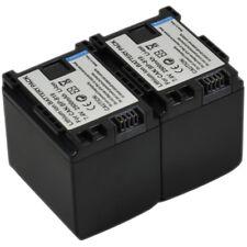 2x 2.5A Battery BP-819 819D BP-807 BP-808 BP-809 BP-827 LEGRIA VIXIA iVIS HF G10