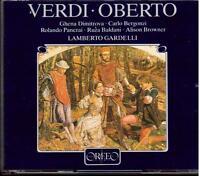 Verdi: Oberto / Gardelli, Dimitrova, Bergonzi, Panerai - CD