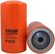 Fuel Filter-Spin-on secondary Fram P1110. Listing is for 2 filters