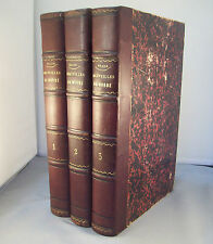 LES MERVEILLES DU MONDE / HUARD /  Vol. RELIURE 1/2 CUIR XIX° BOULANGER