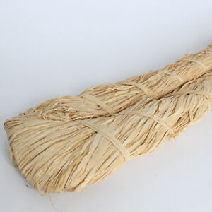 500g Natural Raffia Straw Rope for DIY Crafts Gift Packing Flower Wrapping Decor