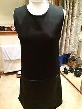 Femmes Little Black Shift Robe, Taille UK10/EUR38, made in France pour la redoute