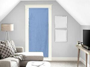 Tenda in voile per porta finestra in cotone 70x200 cm PANAMA Blu (K3Y)