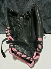 "Mizuno Gpp 1153 11 1/2"" Finch Power Close Leather Rh Baseball Glove Preowned"
