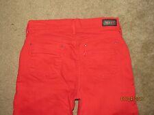 Women's Levis Red Capri Pants Size 4