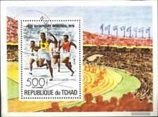 Chad block65 (complete issue) used 1976 Olympics Summer