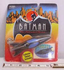 BATMAN THE ANIMATED SERIES BATBOAT TOY ON CARD ERTL