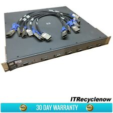 HP PROCURVE SWITCH 6400CL J8433A 6x 10 GBE CX4 PORTS, POWER CORD & RACK MOUNTS