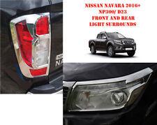 per Nissan Navara NP300 16 su Styling Accessori ant. N POSTERIORE LUCE CROMATA