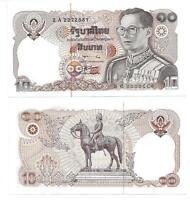 THAILAND 10 BAHT 1980 SIGN 56 UNC P 87