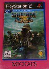 SOCOM - US NAVY SEALS (PLAYSTATION 2) PS2 TACTICAL FPS