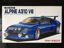 1/20 Renault Alpine A310 V6 Fujimi 78 Rally Monte Carlo / XXI Tour de Corse