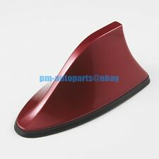 PM Red Roof Top Mount FM Base Shark Fin Antenna New w/ Reception Amplify Chip