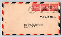 US SC# 716 FDC / Strip of 3 - Z13181