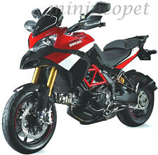 NEW RAY 57533 DUCATI MULTISTRADA 1200 S PIKES PEAK BIKE 1/12 BLACK RED WHITE