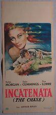 Locandina INCATENATA (THE CHASE) 1950 MICHELE MORGAN, ROBERTO CUMMINGS