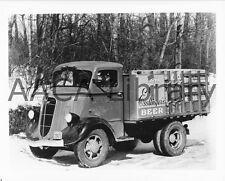 Beer Ref. #77926 Factory Photo 1936 Studebaker 2M601 Tractor Trailer Truck