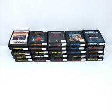 Vintage Atari 2600 Games - Lot of 25 Games no duplicates